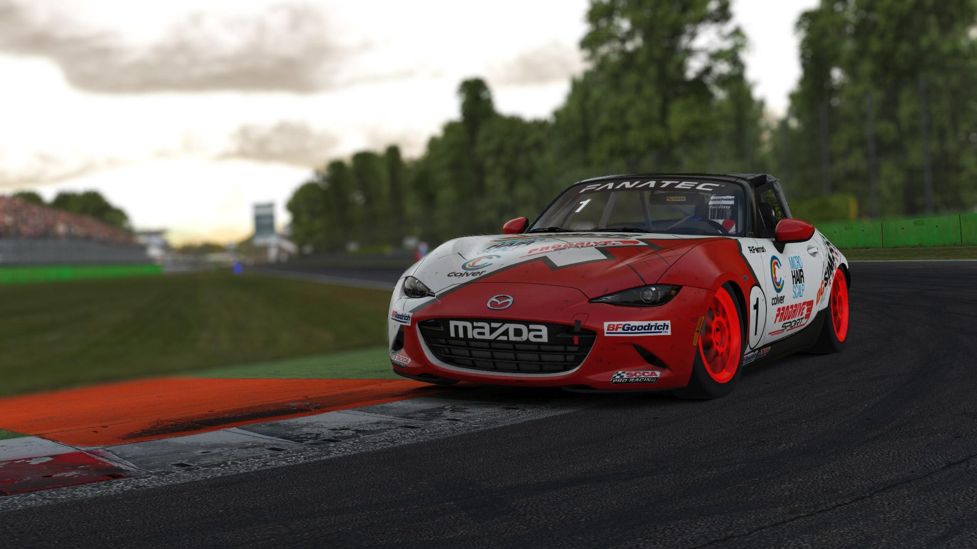Mazda iRacing sponsor
